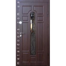 Входные двери Классик со стеклом