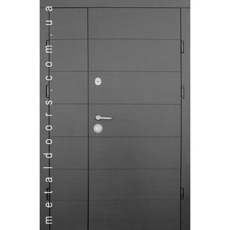 Входные двери Горизонталь 1200мм Форт, серия Премиум