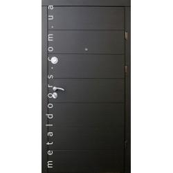 Входные двери Форт, серия Стандарт, модель Горизонталь
