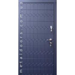 Входные двери Форт, серия Стандарт, модель Графит