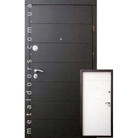 Входные двери Qdoors, серия Премиум, модель Горизонталь