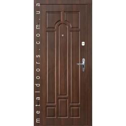 Входные двери Дует с притвором Форт, серия Эконом