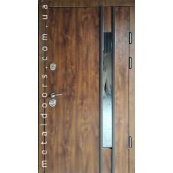 Двери входные Авеню со стеклопакетом REDFORT