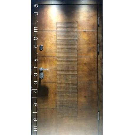 Двери входные Сруб (Коттедж Стронг) Вери Двери