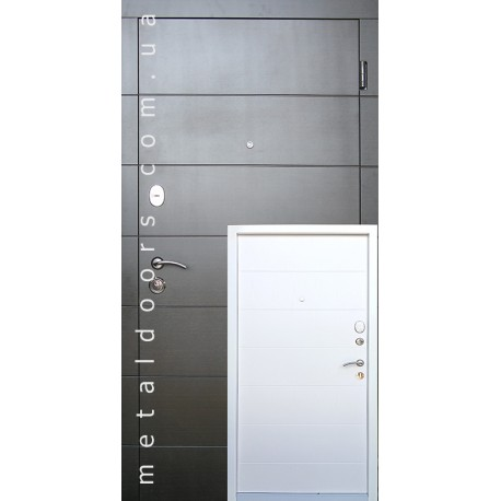 Двери входные Елегант с 2х цветной рамой REDFORT серии Стандарт
