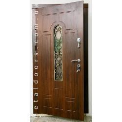 Двері Арка + ковка №4 (Преміум)