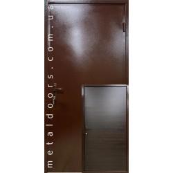 Двери входные Эконом Металл/ДСП 1900 мм Сова