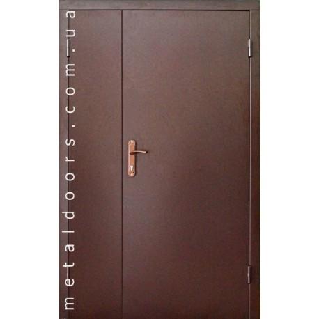 Двери входные Эконом Металл/ДСП 1200 мм Сова