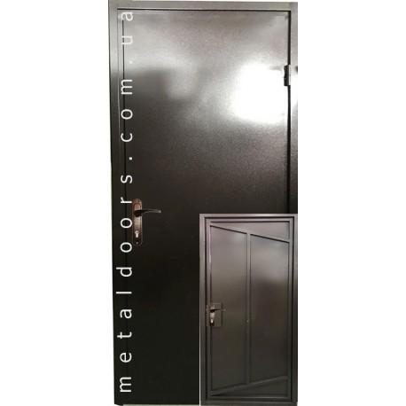 Двері Технічка 1 листова Сова