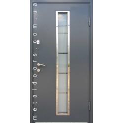 Вхідні двері К221 М (Котедж ПРИМА С) Стильні двері