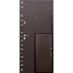 Вхідні двері К220 М (Котедж ФОРТЕ) Стильні двері