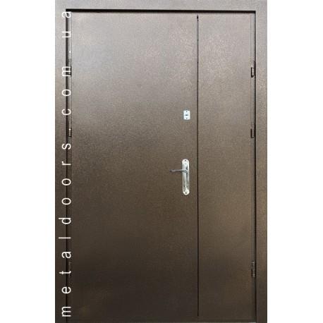 Двери входные Арка металл/метал 1200 мм Редфорт