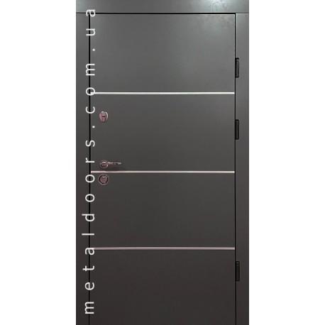 Двері вхідні Титан Редфорт серії Композит