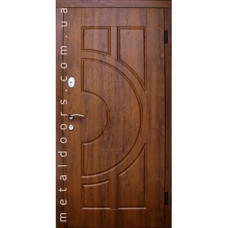 Двери входные Рассвет (Оптима, гнутый профиль) Редфорт