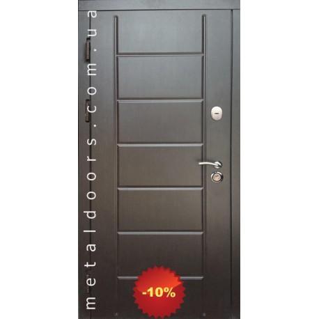 Двері вхідні Канзас Редфорт серії Комфорт