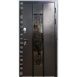 Вхідні двері К1101 М Котедж МАРСЕЛЬ Стильні двері