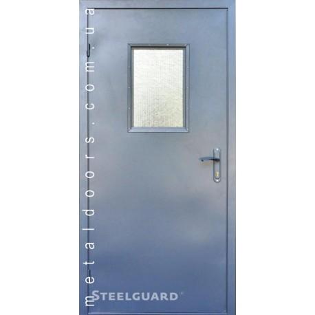 Двери входные 161 Glass SteelGuard