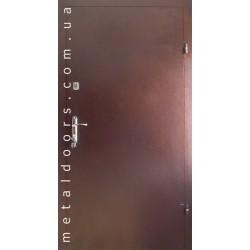 Двери входные Металл/Металл (эконом)