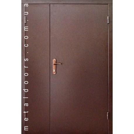 Двери входные Редфорт Технические 1200 мм (2 листа, эконом)