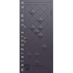 Входные двери Сахара Каскад Элит антрацит/серый металик