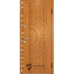 Входные двери Адамант Каскад Премиум 100 дуб золотой