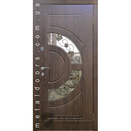 Входные двери Орион Премиум 80 Каскад дуб бронза