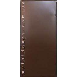 Двери входные Технические (2 листа, эконом)