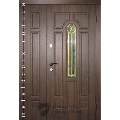 Входные двери Лучия Премиум Каскад 1200 мм дуб бронза