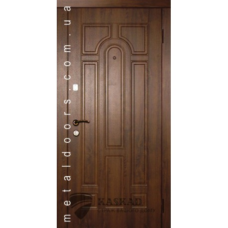 Входные двери 110 Стандарт Каскад темный орех