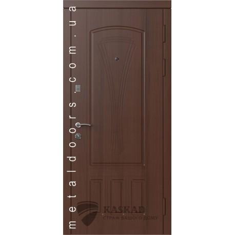 Входные двери Марсель Стандарт Каскад орех шоколадный