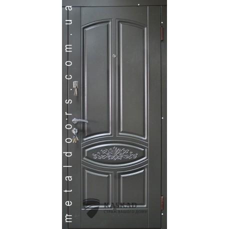 Входные двери Гранат Стандарт Каскад антрацит