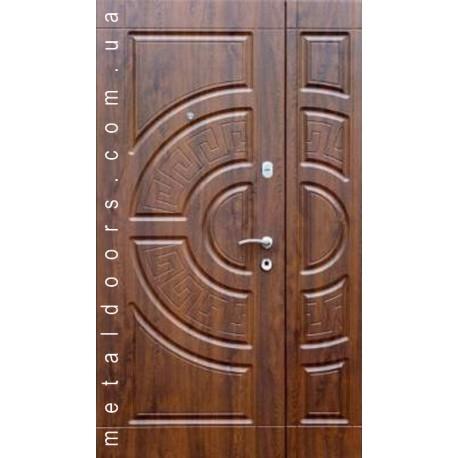 Входные двери Адамант Премиум Каскад двойные дуб бронза