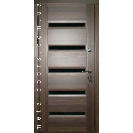 Входные двери М417 Элит Оптимал Стильні двері