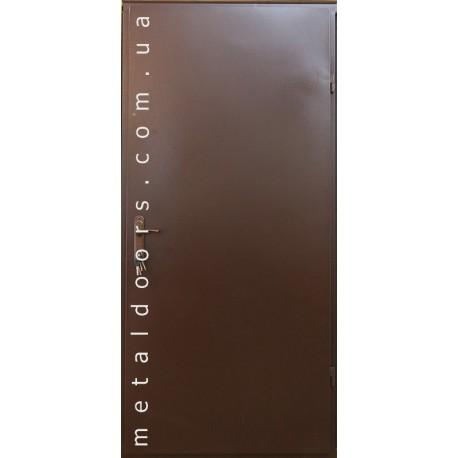 Двери входные Технические (1 лист, эконом)