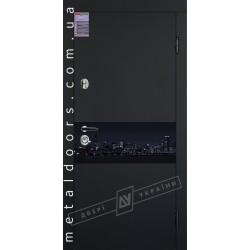 Купить входные двери ArtGlass 7 ТМ Двери Украины
