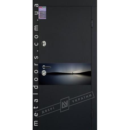 Двери входные ArtGlass 8 ТМ Двери Украины