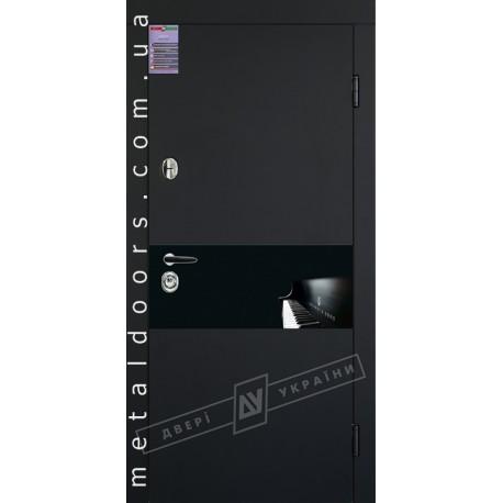 Двери входные ArtGlass 9 ТМ Двери Украины