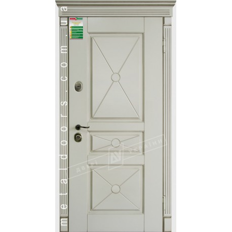 Двери входные Прованс 3 Декор ТМ Двери Украины