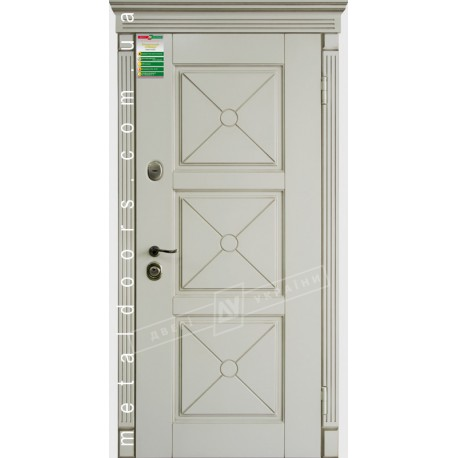 Двери входные Прованс 5 Декор ТМ Двери Украины