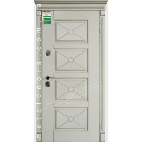 Двери входные Прованс 6 Декор ТМ Двери Украины