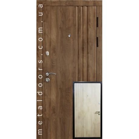 Двери входные Трио (Эталон) Стильні Двері