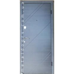 Двері Оптима (гнутий профіль)