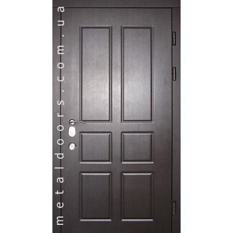 Двери входные Домино (серия Элит) Редфорт