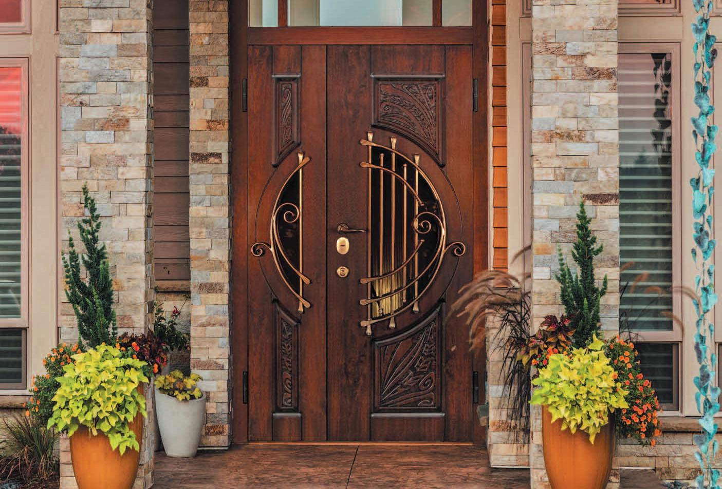Двері вхідні Largo SteelGuard в інтер'єрі