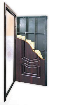 Конструкция металлической входной двери Antares (Антарес)